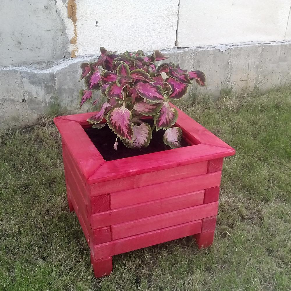 Jardiniera patrata modulara