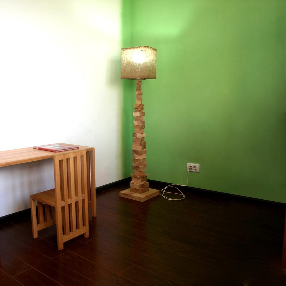 lampa de la ikea dupa ce a fost reconstruita