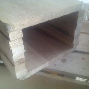 acesta este spatiul in care vom lipi bucatile de stejar taiate din scandura pe contrafibra