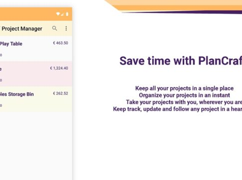 organize your DIY and handmade projects with PlanCraft App